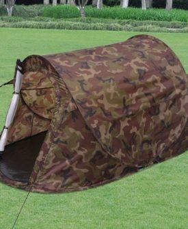 vidaXL 2-personers pop-up-telt kamouflage