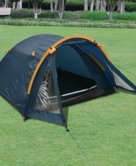vidaXL 3-personers telt blå