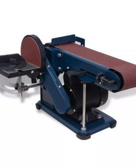 vidaXL bånd- og skiveslibemaskine, 375 W