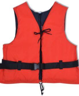 vidaXL svømmevest 50 N 30-50 kg rød