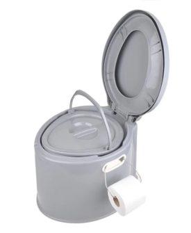 ProPlus transportabelt toilet 7 l grå