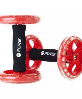 Pure2Improve core-træningshjul 2 stk. rød