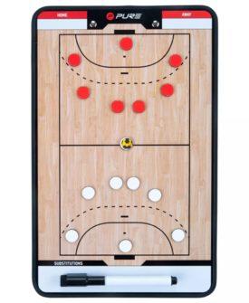 Pure2Improve dobbeltsidet håndboldtrænertavle 35 x 22 cm P2I100630