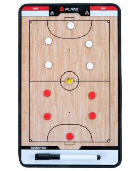 Pure2Improve dobbeltsidet trænertavle futsal 35 x 22 cm P2I100650