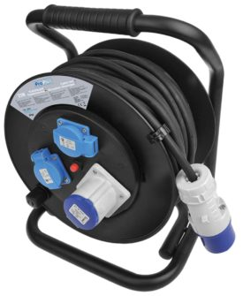 ProPlus kabeltromle 25 m 1 x CEE