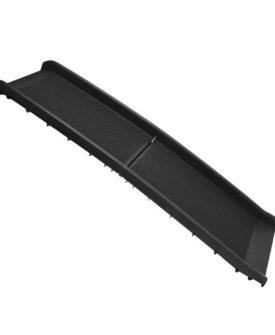 ProPlus kæledyrsrampe 155 cm 90 kg plastik sort