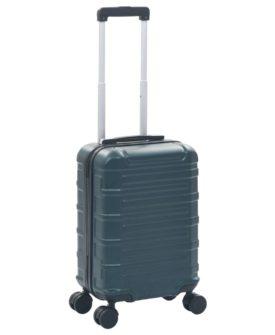 vidaXL hardcase-kuffert ABS grøn