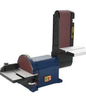 vidaXL elektrisk skive- og båndsliber 550 W 200 mm