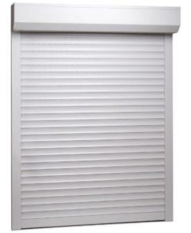 vidaXL rulleskodder aluminium 110 x 130 cm hvid
