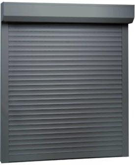 vidaXL rulleskodder aluminium 100 x 120 cm antracitgrå