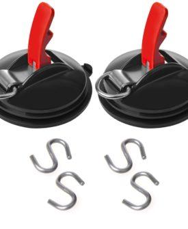 ProPlus sugekopper 2 stk. med ringe og 4 S-kroge