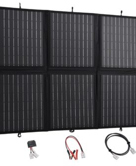 vidaXL foldbar oplader til solpanel 120 W 12 V