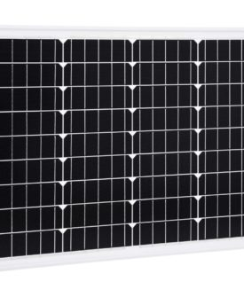 vidaXL solcellepanel 50 W aluminium og sikkerhedsglas